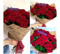 A gorgeous bouquet of red roses for your beloved mom!