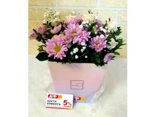 Заказать цветы с доставкой по Москве