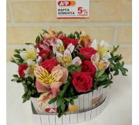 Коробочка весенних цветов!