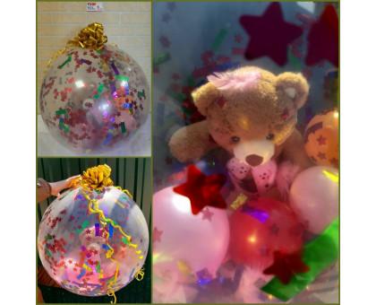 Мягкая игрушка в шаре!