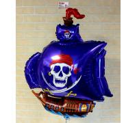 Шар пиратский корабль!