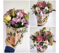 Flower mix composition in a box!