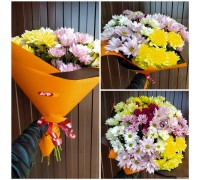 A bouquet of colorful chrysanthemums!