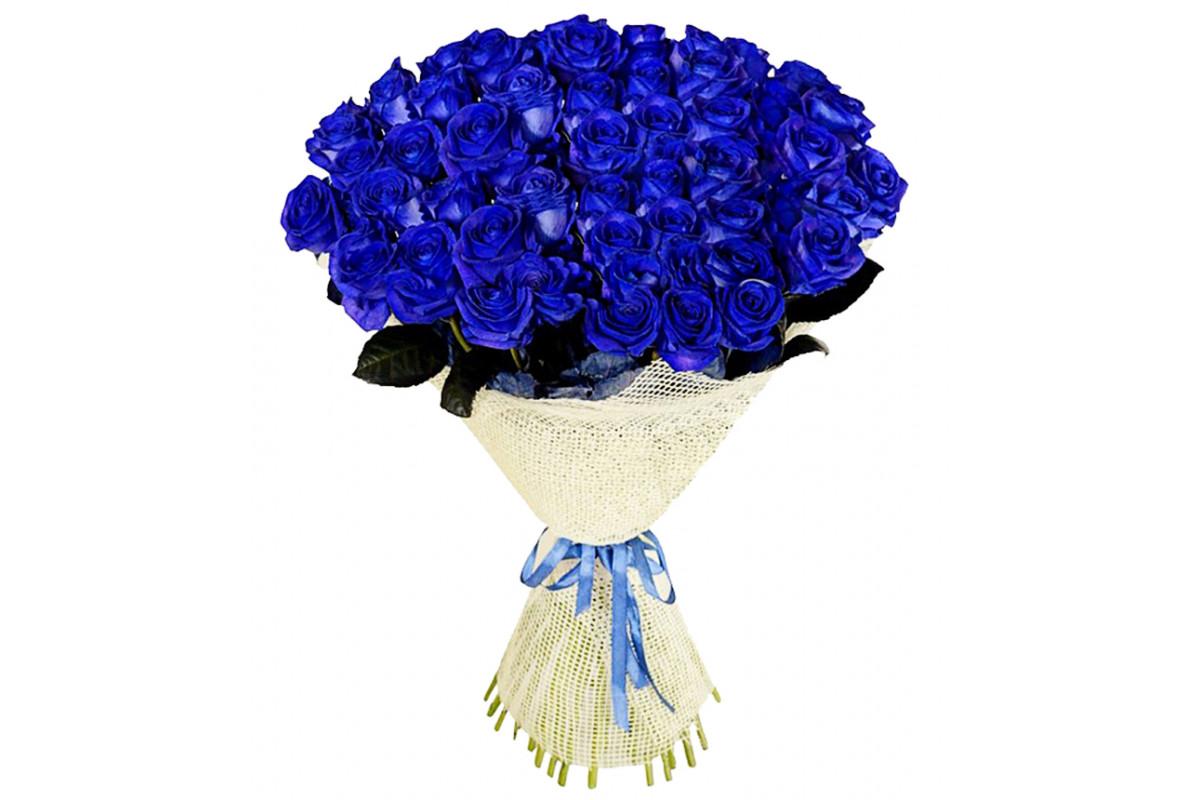 Букет цветы из синие розы картинки