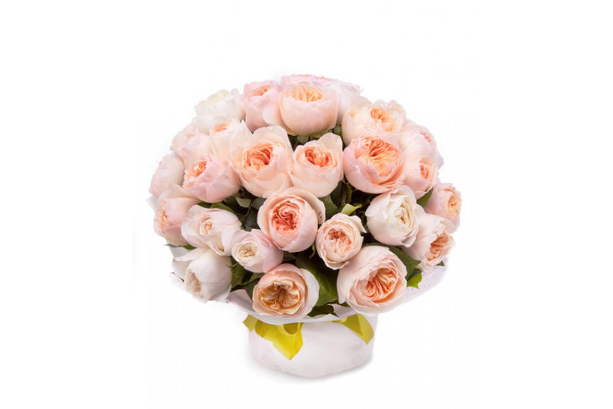 Пионовидные розы букеты фото
