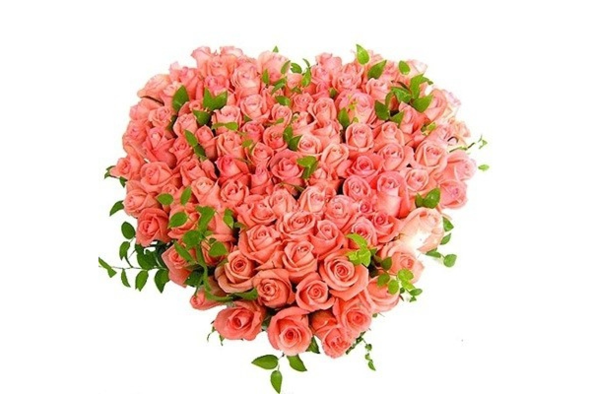 Букет цветов из роз на открытку