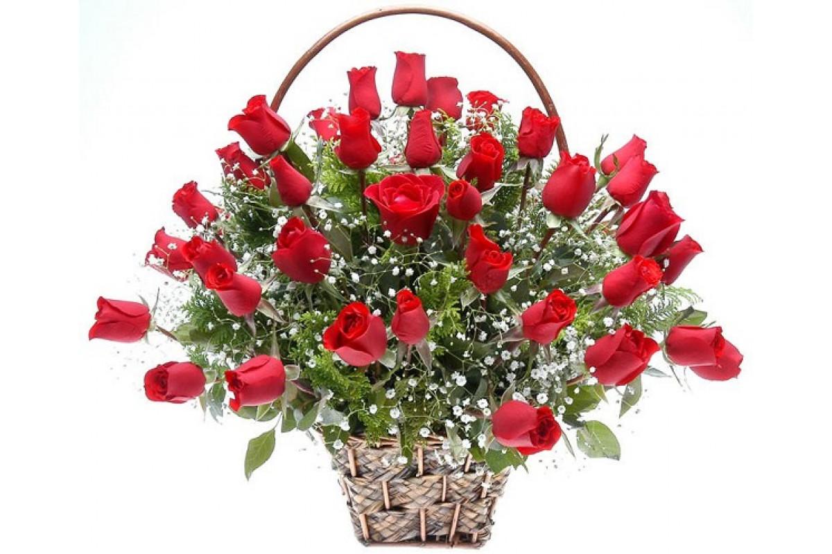 Картинка гифка букеты роз красные