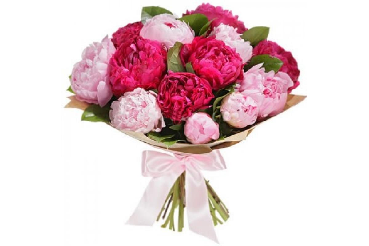 Цветы купить онлайн пионы в одессе, цветных