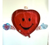 "Balloon heart ""Huge me"""