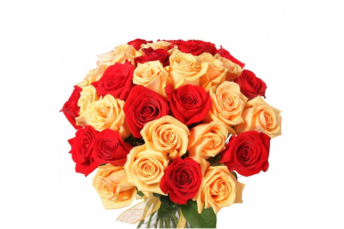 Много розы букет 43, там