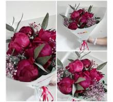 Bouquet of 5 peonies!