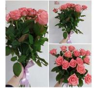 15 delicate roses 60 cm!