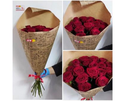 17 roses in craft 60 cm!