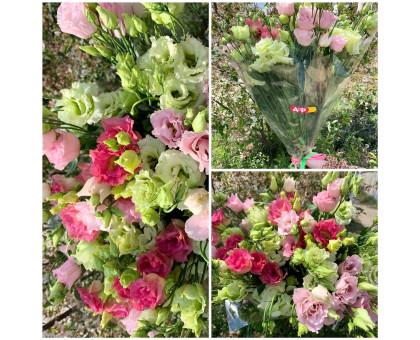 Bouquet of eustomas in the film!