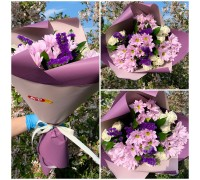Bouquet in purple colors!