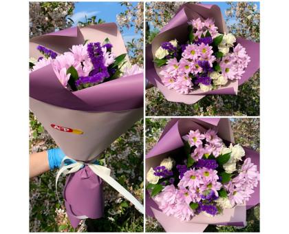 Bouquet in purple colors!