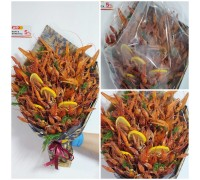 A bouquet of crayfish is the most unusual, original and delicious gift for men!