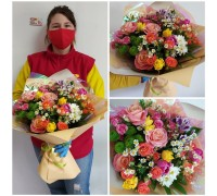 "Bright bouquet ""Spring mood"""