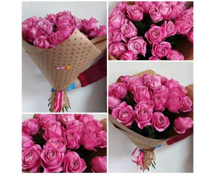 21 pink roses 60 cm in craft!