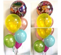 Bright birthday balloons!