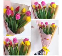 11 bright tulips!