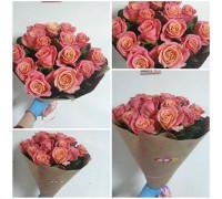 """15 roses 50 cm """"Miss Piggy"""""""
