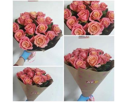 15 roses 50 cm