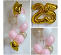2 waterfalls and anniversary balloons!