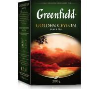 Black tea Greenfield Golden Ceylon leaf 200 g