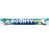 Bounty Trio Chocolate Bar 82.5 g