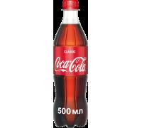 Coca-Cola Classic carbonated drink 0.5 L