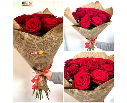 21 red roses 60 cm in craft!