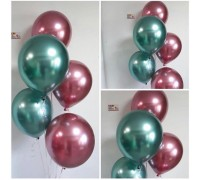 Waterfall from helium balloons chrome!