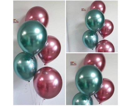 Waterfall from helium balloons chrome!