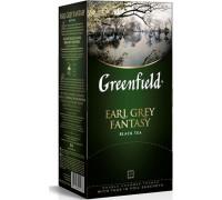 Чай черный Greenfield Earl Grey Fantasy в пакетиках 2 г 25 шт