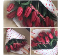 19 tulips in craft for your beloved!
