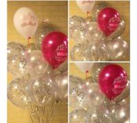 "Fountain of balls "" Happy anniversary!"""